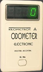 Odómetro - Odometer - Display de 4 dígitos y botón de apagado y encendido