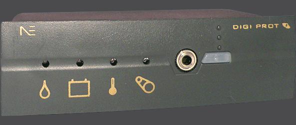 Protector de motores - DIGI PROT - Sensores e indicaciones de funcionamiento