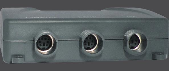 Sensor ultra-sônico - NECC-01 - Saídas ao computador e logger