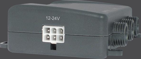 Sensor ultrasónico - NECC-01 - Conexión alimentación y salidas