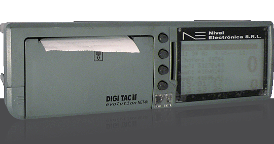 Tacógrafo digital DIGI TAC evolution NET-01