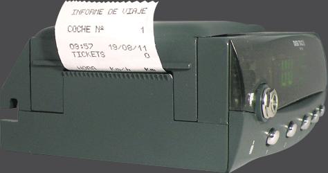Tacógrafo digital - DIGI TAC RPM II - Impressora