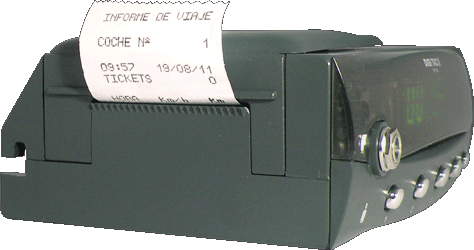 Tacógrafo digital - DIGI TAC RPM II - Impresora