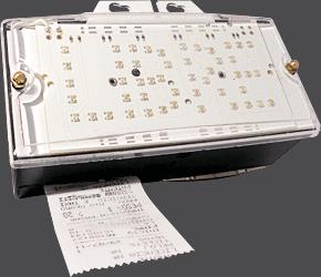 Taxímetro digital - DIGI TAX Platino - Bandera LED apagada